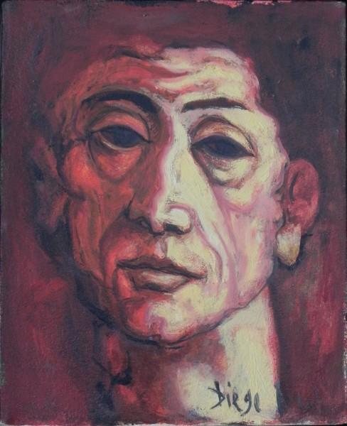 """Le Professeur"" by Antonio Diego Voci #C74"