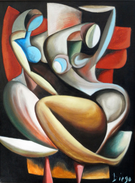 """Composition"" by Antonio Diego Voci #C77"