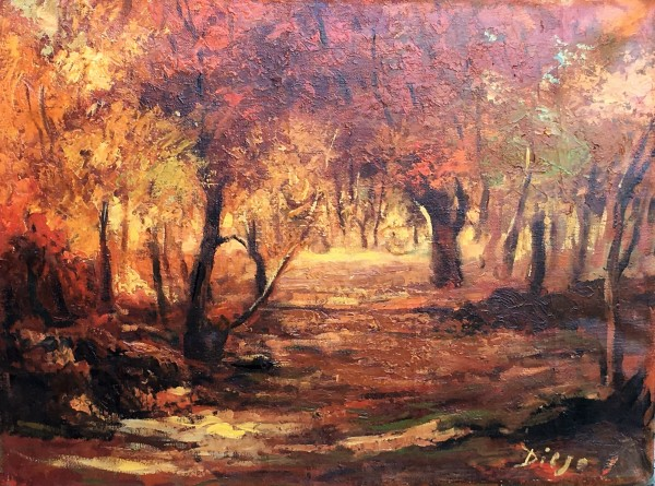 """L' Autumne"" by Antonio Diego Voci #C80"