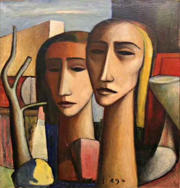 """""""Tetes de Geants"""" by Antonio Diego Voci #C81"""