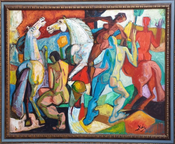 """Le Amazzoni"" by Antonio Diego Voci #C87"