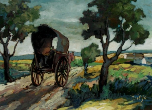 """""""Landscape"""" by Antonio Diego Voci #C88"""