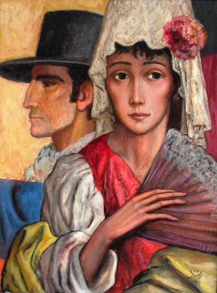 """Sevillians""by Antonio Diego Voci #C9"