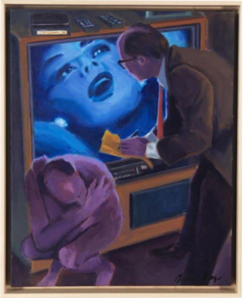 """Chimera""(Self-Portrait × 2) by David Baze"