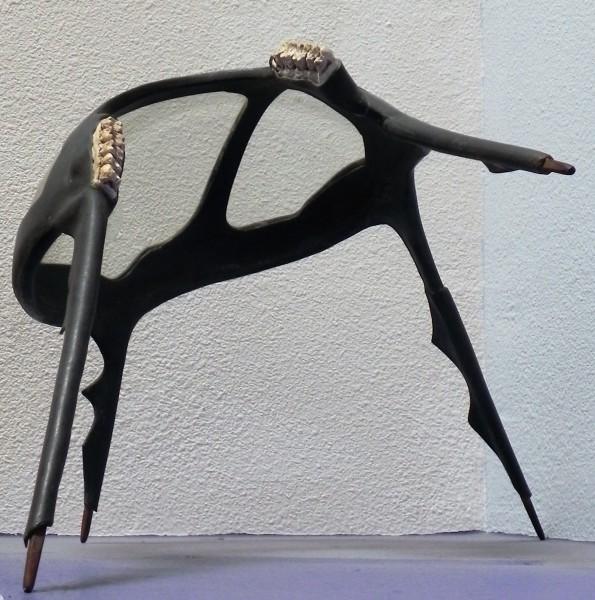 """""""The Professeur"""" (Metal & Real Teeth) by Christopher Lee"""