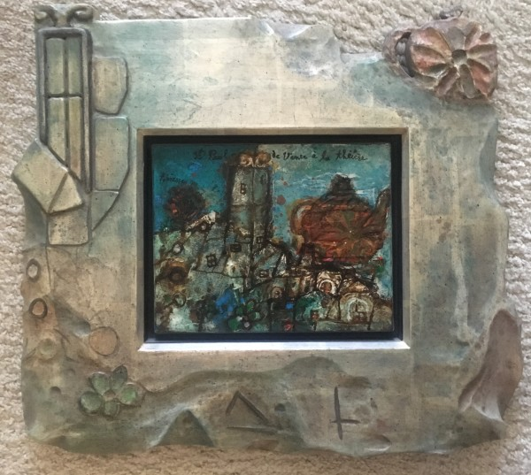 """St. Paul de Vence"" by Theo Tobiasse"