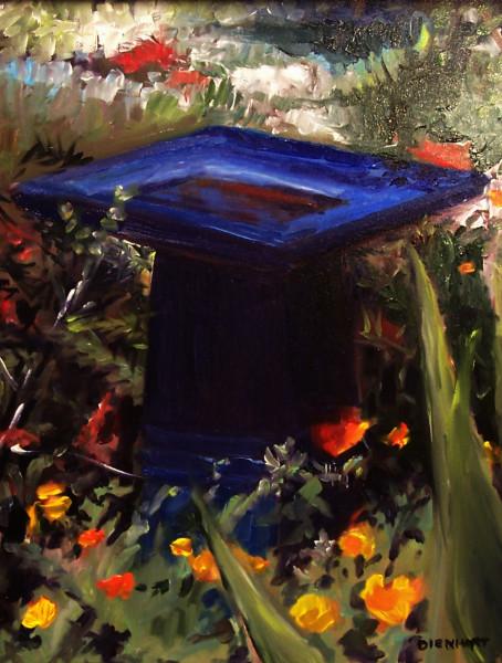 The Blue Birdbath