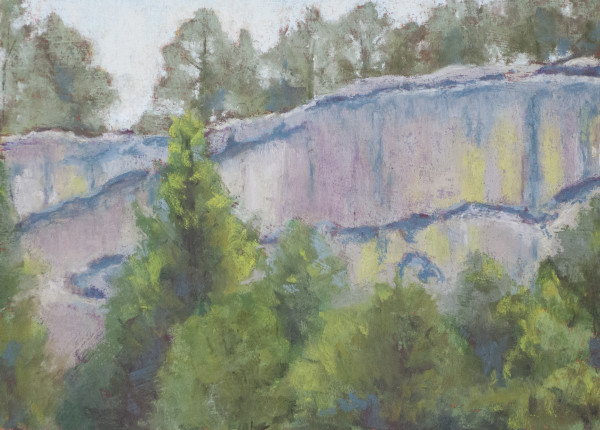 Castlewood Canyon Cliff