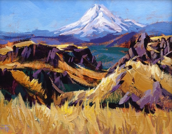 Mt Hood From Dalles Ranch Road