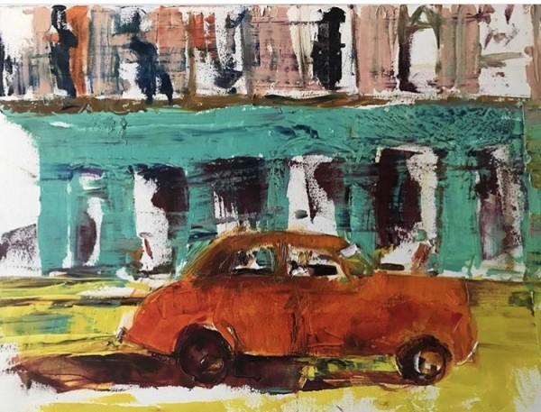 La Vida Cuba - Vintage Car