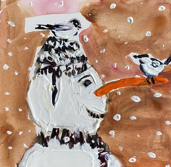 Snowman birds