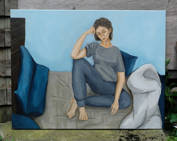 2018 A Girl in a Bed
