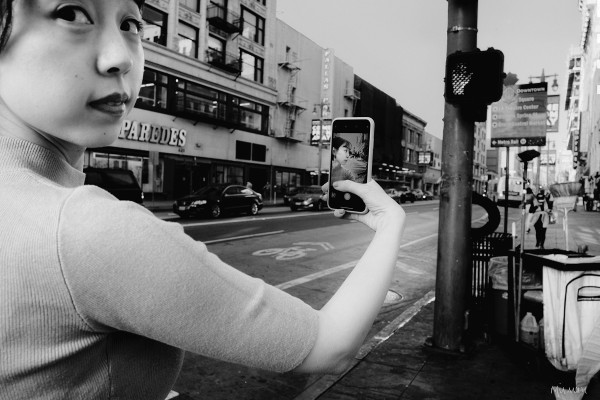 Selfie Interrupted 16x20