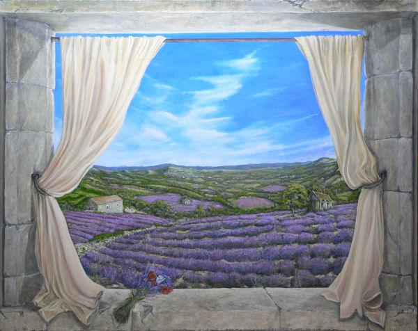 Lavender & Poppies