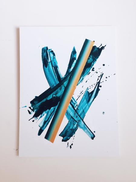 Sligo. Turquoise, Field/Dusk
