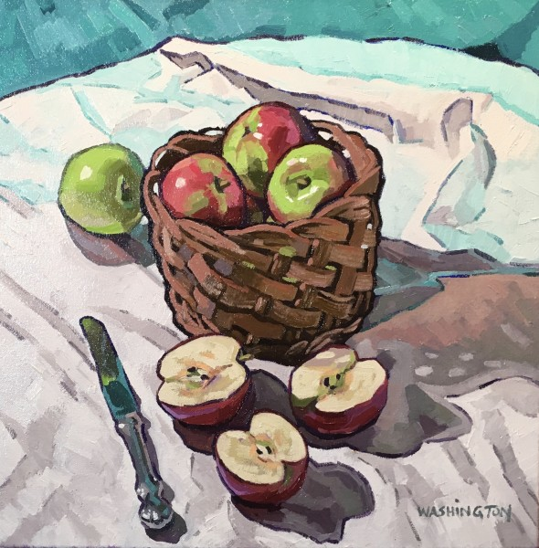Basket w/Apples