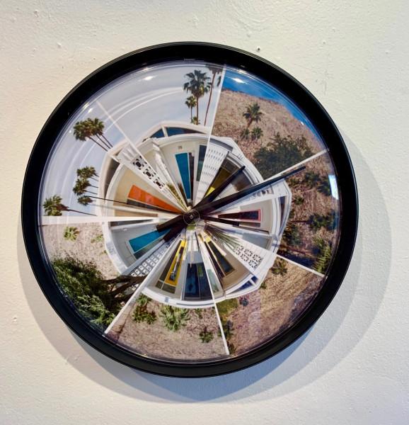 Clock — Colorful Doors