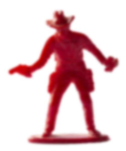 Red Shooter Blurred