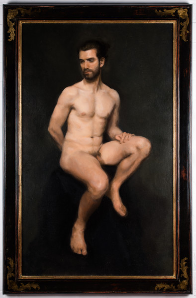 Enrico (Seated Male Nude)