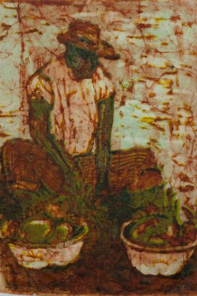 FRUTOS DEL CAMPO, Print - Silkscreen on Paper Batik
