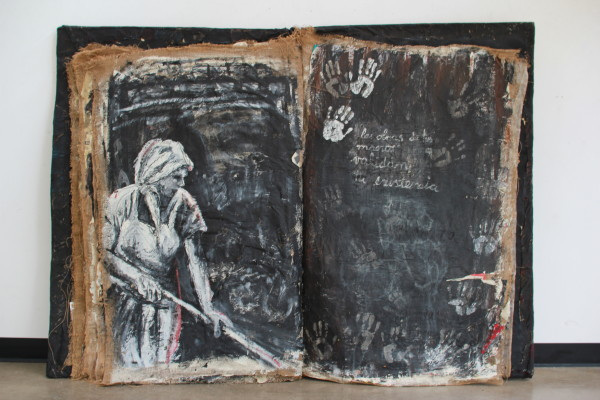 ODE TO WOMEN, Book Art, 28 pages