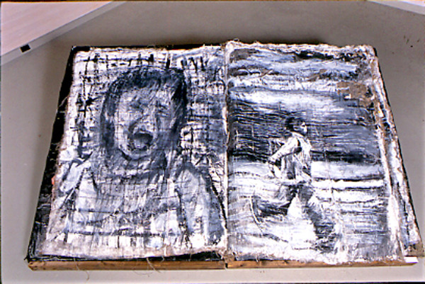 BLACK AND WHITE BOOK - Book Art / Black and White Series