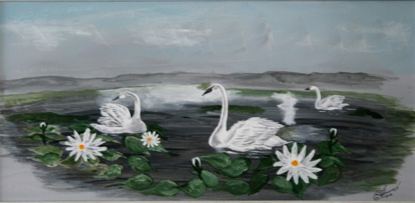"""""""Peaceful Swans"""""""
