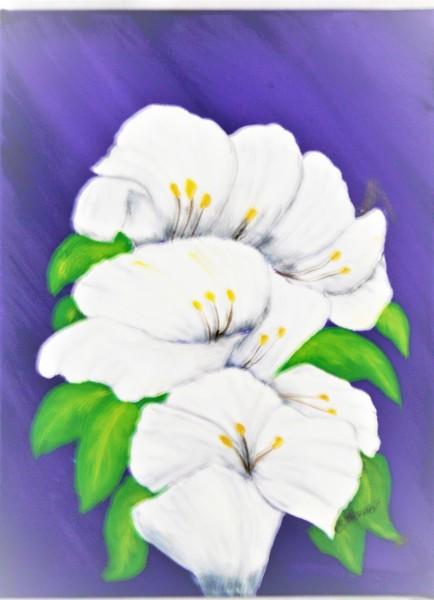 """""""A White Floral Spray"""""""