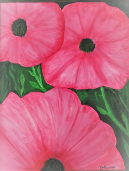 """""""Pink Flowers in Full Bloom"""""""