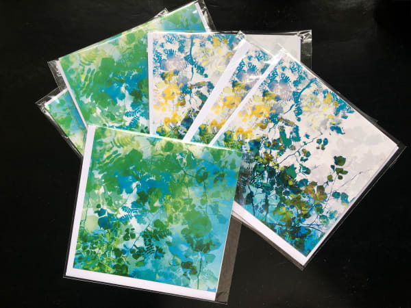 Rain dance card set ( 6 individually wrapped greeting cards)