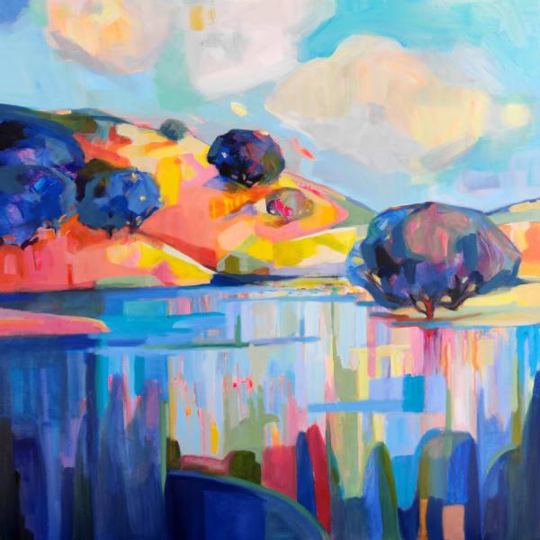 Joseph Grant Pond Reflections