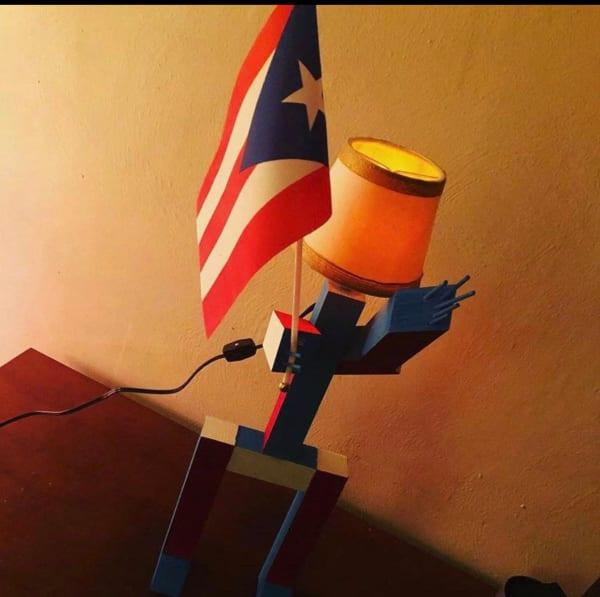 Puerto Rican Lamp