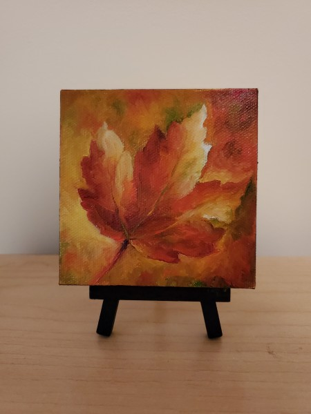 Mini - Fall Leaf