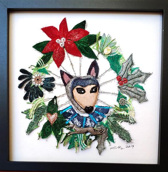 Greyhound Wreath