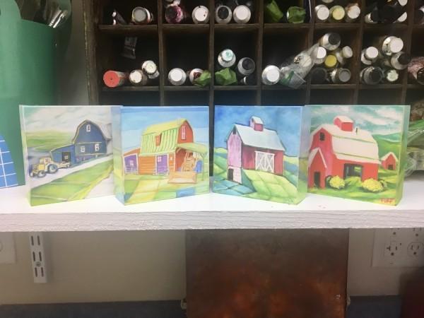 Small Barn Prints