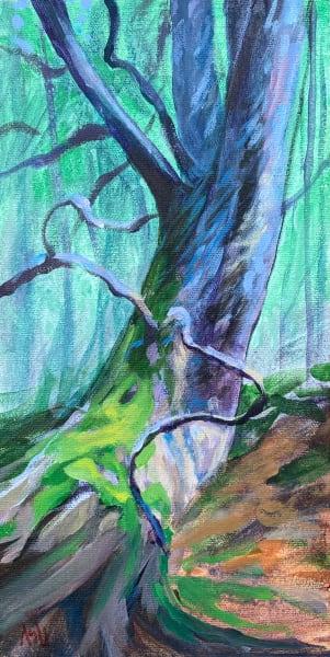 Reclining White Pine