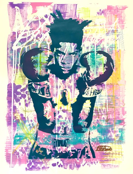 Basquiat Purple