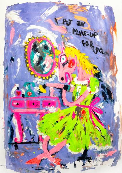 I put on make-up for you