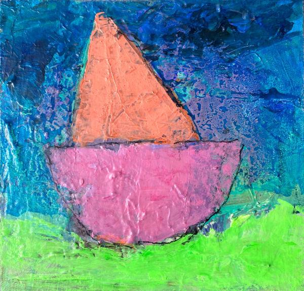 Boat Parade - Pink