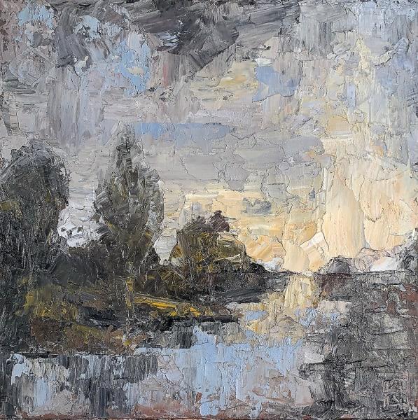 'Path at Dusk'