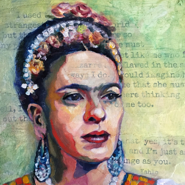 Frida Acrylic Block Print #2 of 2