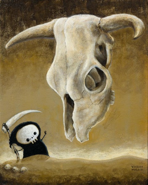 Lil' Reaper - Begone Thou Flying Skull of Doom