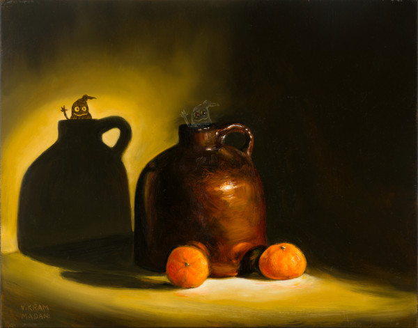 Two Clementines, and a Ghost