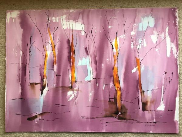 Forest - violet II