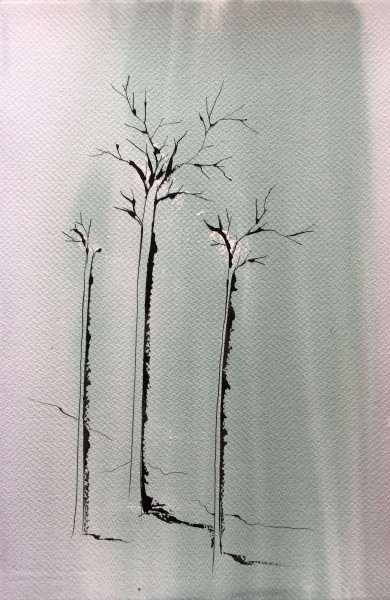 Skinny forest