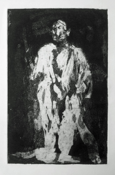Figure in a Robe