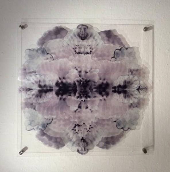 Portland Mandala ~ Glass Work