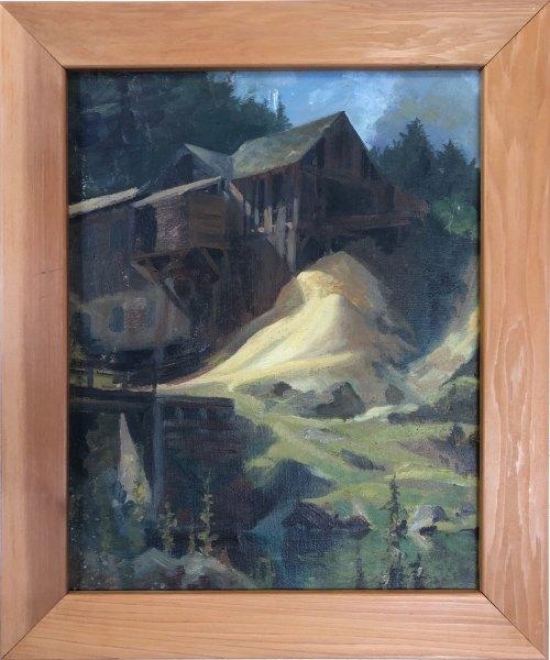 Sawmill (New England)  c. 1930s