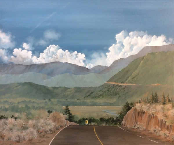 """""""Road to Wind River"""" Wyoming"""