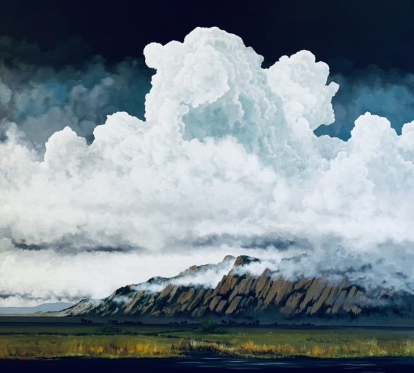Western Clouds - Giclee